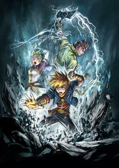 Golden Sun : Dark Dawn
