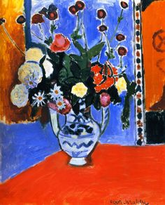 bofransson:  Bouquet (also known as Vase with Two Handles)Henri Matisse - 1907