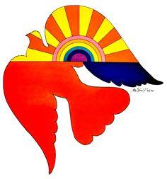 Milton Glaser ☆ Bird for Unicef (1969)