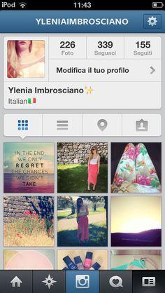 My instagram! Follow me ❤