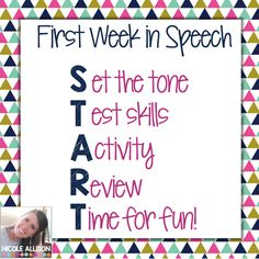 Goals and Activities to START your year off right!