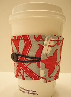 How to Make a Reversible Coffee Cozy