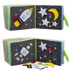 Educational baby toy quiet busy book of felt developmental