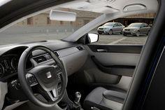 SEAT Toledo Innenraum - Kraftstoffverbrauch SEAT Toledo: kombiniert: 6,1-4,0 l/100 km; CO2-Emission, kombiniert: 137-106 g/km; CO2-Effizienzklasse: A-D. http://www.seat.de/content/de/brand/de/pkw-envkv/verbrauch---emissionen.html