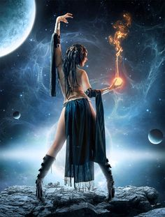 Parvati birth of new star by *sasha-fantom on deviantART