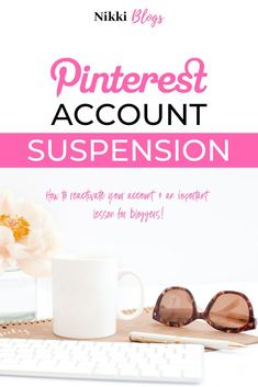 Learn how to avoid Pinterest jail and/or reactivate your suspended Pinterest account using this guide. Understand Community Guidelines, how to report content and pin theft, plus more. Bloggers will learn a valuable lesson as to the importance of SEO, how to utilize social media marketing correctly, and how to maintain an optimum work life balance. Work smarter, not harder!
