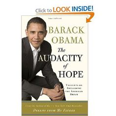 """""""The Audacity of Hope: Thoughts on Reclaiming the American Dream"""" by Barack Obama"""