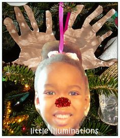 little illuminations: Deck The Halls With Holiday Ornaments @Emily Schoenfeld Schoenfeld Schoenfeld Schoenfeld Schoenfeld Schoenfeld Allor Make these with your 4 year olds