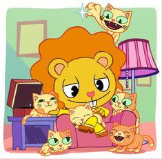Happy Tree Friends Flippy, Happy Friends, Creepy Guy, Three Friends, Childhood, Fan Art, Bear, Cartoon, Cute