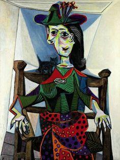 Picasso, 'Dora Maar au Chat', 95.2 milyon dolar (2006)