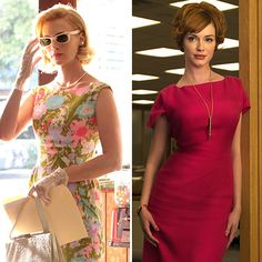 Love pretty much anything Betty wears on Mad Men...but this is definitely one of my favorites...sooo 60's...the pocketbook and gloves are fun too...