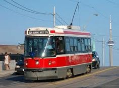 "This is what Toronto is all about the ""Red Rocket"" as we called them as kids... Nothing like a street car ride. Just so much fun, for us who now live out side Toronto... Back then is fighting for a seat...or you stood up the whole trip..."