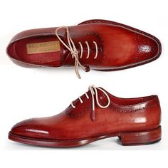 Any thoughts about these Camel-red medlion toe oxfords by @paulparkman? || MNSWR style inspiration || www.MNSWR.com