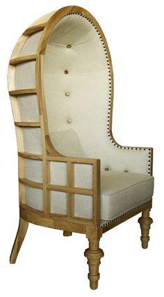 Ribcage Chair...elevator lobby?