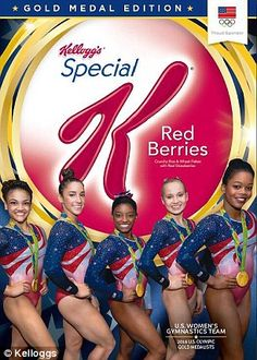 Who can resist a box now? The full winning women's team, from left, Laurie Hernandez, Aly Raisman, Simone Biles, Madison Kocian and Gabby Douglas who dubbed themselves the Final Five