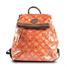 Big Cat Collection Red Leopard Rucksack By Joanna Smith-Ryland