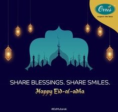 Let this Eid bring a new dawn of prosperity into your lives, Orris Infrastructure extends greetings of peace and love on this holy day. Eid Mubarak.  #EidMubarak #EidMubarak2020 #EidAlAdha #EidAlAdha2020 #HappyEid #HappyEidMubarak Happy Eid Mubarak, Eid Al Adha, Bring It On, Let It Be, Peace And Love, Holi, Dawn, Blessed, Advertising