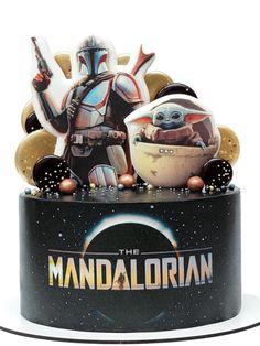 Bolo Star Wars, Tema Star Wars, Star Wars Cake, Star Wars Party, Star Wars Birthday Cake, 8th Birthday, Birthday Party Themes, Jeep Cake, Yoda Cake