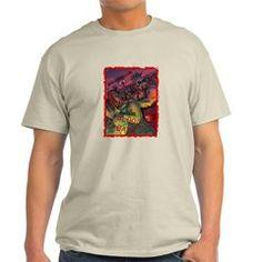 Blood Bath! Pro Wrestling Art Light T-Shirt $20.99 #saytoons #prowrestling