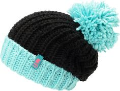 Neff Girls Sofia Black & Blue Fold Beanie at Zumiez : PDP $27.95