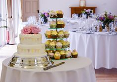Photography by Mark Stickland. Courtyard Wedding, Icing, Wedding Photography, Entertaining, Cakes, Table Decorations, Weddings, Food, Patio Wedding