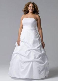 Satin Pick-up Ball Gown Wedding Dress with Sash