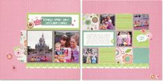 layout by Pamela O'Connor using CTMH Lollydoodle paper ... (pin just goes to blog, not individual post)
