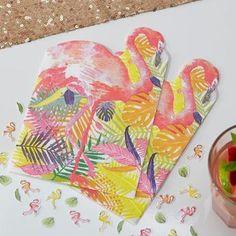 Ver detalles de Servilletas flamenco rosa (20)