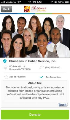 Christians in Public Service, Inc. in Duncanville, Texas #GivelifyNonprofits