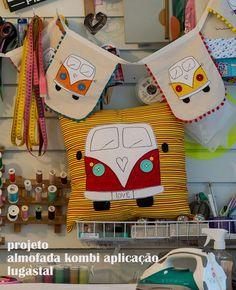 Projeto Almofada Kombi Aplicação