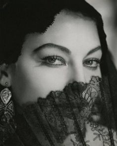 Ava Gardner by George Hurrell