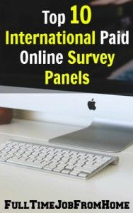 legitimate paid online surveys in the US, but what about international ...