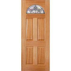 Woodcraft Doors 2040 x 820 x 40mm Black Carolina Entrance Door  sc 1 st  Pinterest & Woodcraft Doors 2040 x 820 x 40mm Carolina TG1CBB Black Frame ... pezcame.com