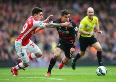 PL Arsenal vs Liverpool 4-1 Phillipe Coutinho