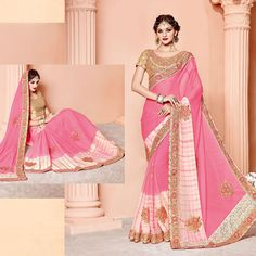 Clothing, Shoes & Accessories Women's Clothing Bollywood Designer Traditional Pakistani Wear Sari Saree Indian Bridal Pah