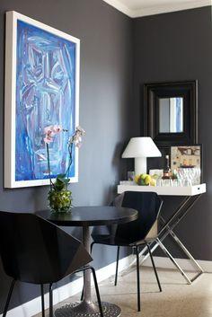 Moody Gray Rooms | eBay