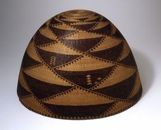 Pomo ~ California, United States     Basket, Late 19th century   Plant fibers