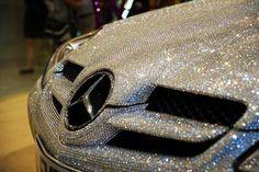 mercedes + diamonds... perfect!