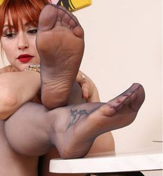 With nylon foot fetish captions can suggest