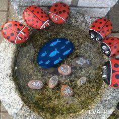 35 DIY ιδέες του Βαμμένο Rocks | Do it yourself ιδέες και σχέδια