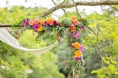 Photography: Calli B Photography - http://www.stylemepretty.com/portfolio/calli-b-photography   Read More on SMP: http://www.stylemepretty.com/australia-weddings/2015/05/14/colorful-bohemian-wedding-at-the-sunshine-coast-queensland/