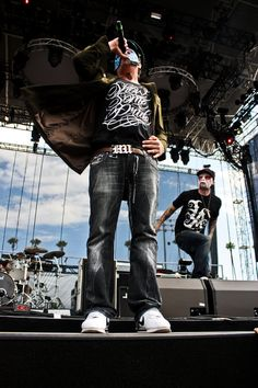 Hollywood Undead. would love to meet them some day