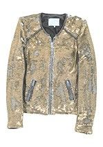 Women - IRO silver combo sequin jacket