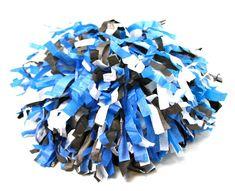 bastelideen fasching karneval pompons diy cheerleader