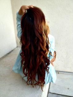 Long brown hair | via Tumblr