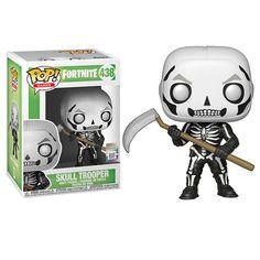 Funko Pop Games Fortnite Series 1 Skull Trooper Figurine for sale online Funk Pop, Pop Vinyl Figures, Funko Pop Figures, Madrid Barcelona, The Witcher, Outlander, Dragon Ball, Walmart, Battle Royale