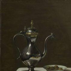 Stilleven met kalkoenpastei, Pieter Claesz., 1627 - Desktop pictures-Verzameld werk van Sasan Mahmoudi - Alle Rijksstudio's - Rijksstudio - Rijksmuseum