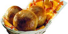 Näin leivot Myllyn Parhaita Sämpylöitä Joko, Ciabatta, Pretzel Bites, Sweet Potato, Potatoes, Bread, Vegetables, Vegetable Recipes, Veggie Food