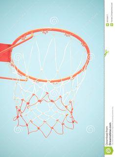 Basketball Hoop Stock Photo - Image: 44184617 Basketball Hoop, Badminton, Tennis Racket, Stock Photos, Image, Basketball Rim