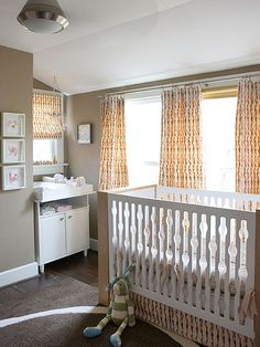 It's tempting to envision a spacious nursery in a bright, airy room all its own, but few households really allow for that: http://www.bhg.com/rooms/nursery/nursery-room-decor/?socsrc=bhgpin041114spacejam&page=11
